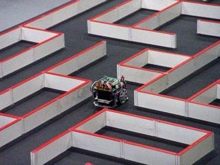 Maze mouse robot