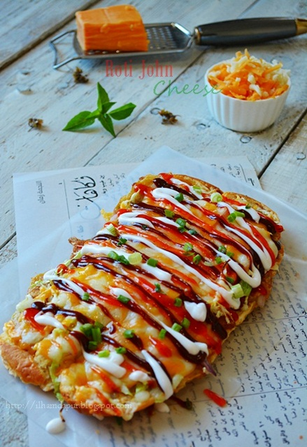 Roti John Cheese Lagi