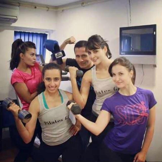 @elliavram @jacquelinef143 @namratapurohit @mandanakarimi pilates ,girl girls having fun , woo p o opp , elli avram , jacqueline fernandez , mandana karimi , pilates , pics by @namratapurohit, Mandana Karimi Latest Hot Pics