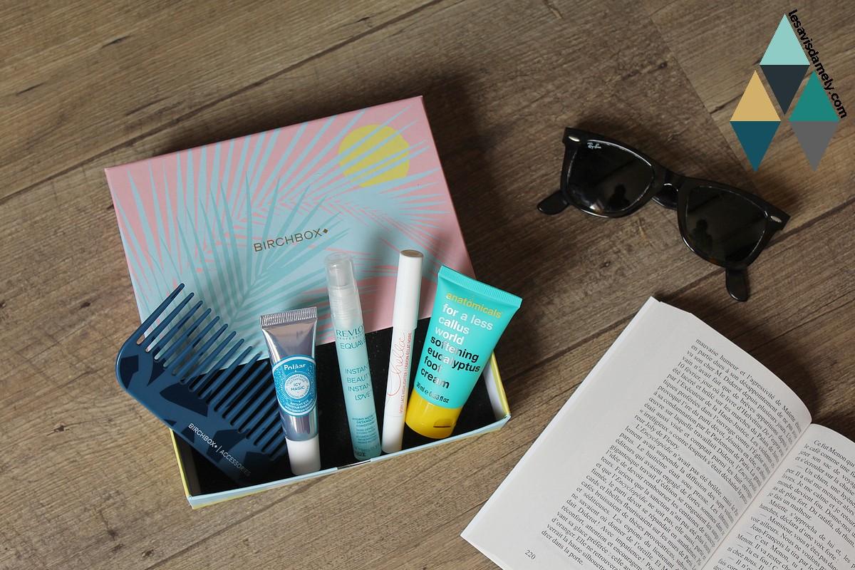 box beauté birchbox été