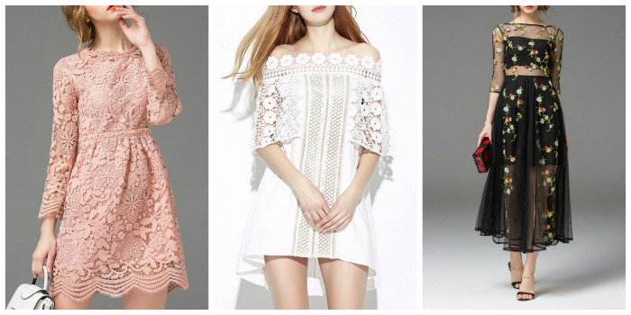 Dezzal lace dresses