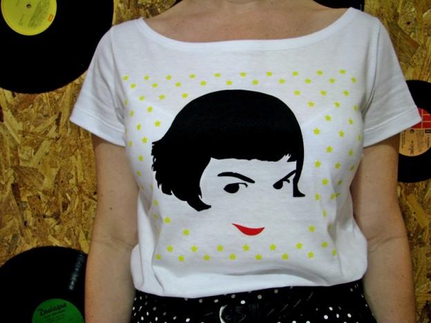 5afb9deb2d Olha que camiseta mais mimosa essa da Amélie!