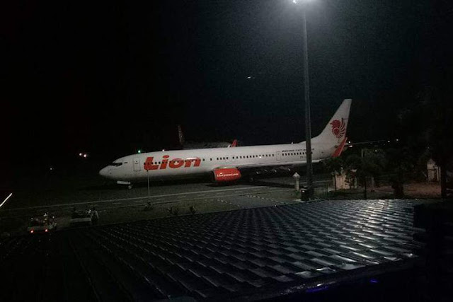 Petugas Bandara Pemandu Lion Air yang Tabrak Tiang Diperiksa