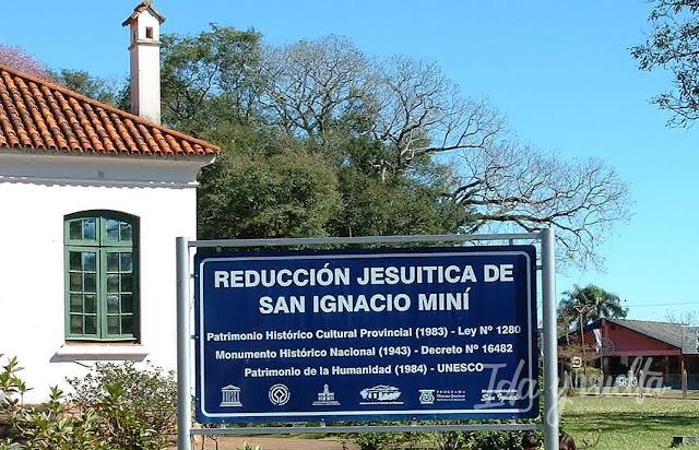 San Ignacio Miní entrada