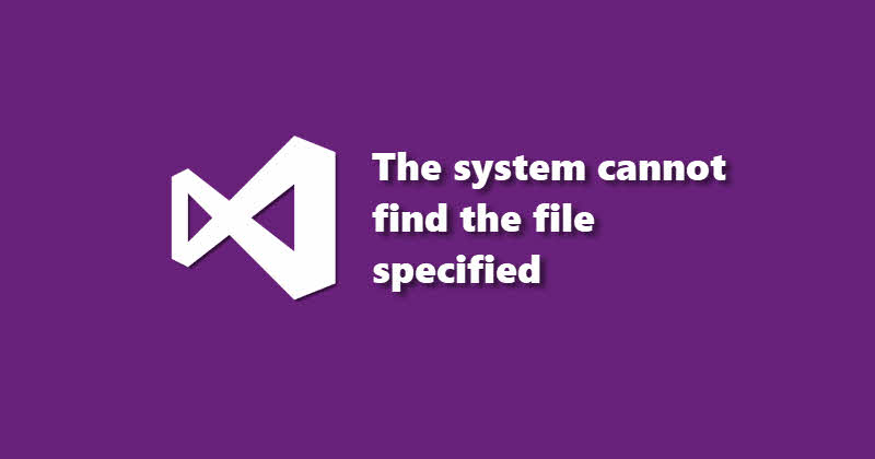 Visual Studio 2015 Error - WixAttachedContainer - The system cannot find the file specified