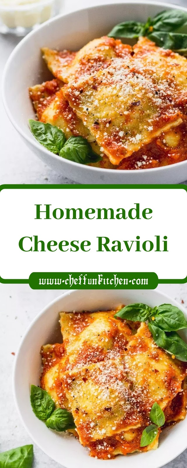 Homemade Cheese Ravioli
