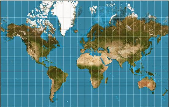 Google Maps & Cartographic Discrimination Against Africa ... on map of abia, map of africa, map of haiti,