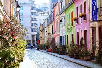 Paris : Rue Crémieux, promenade printanière - XIIème