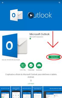 Como usar o Hotmail no celular