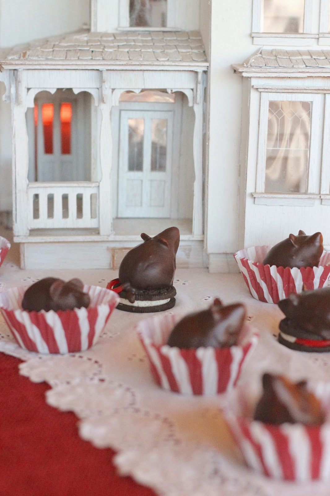 Where Your Treasure Is Chocolate Christmas Mice