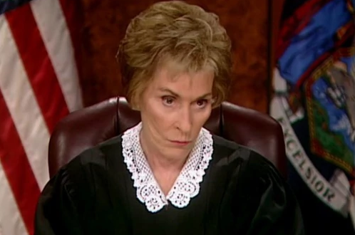 a picture of judge judy