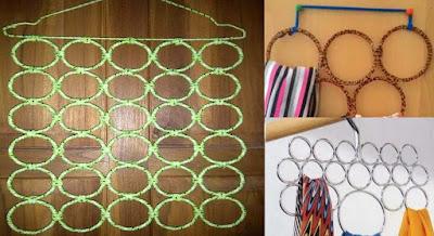 Cara Membuat Gantungan Jilbab Ring dari Gelas Plastik
