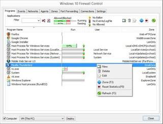 Windows 10 Firewall Control 8.4.0.57 pre-release