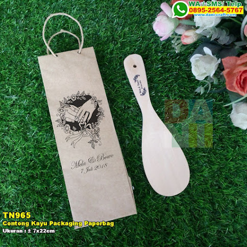 Centong Kayu Packaging Paperbag