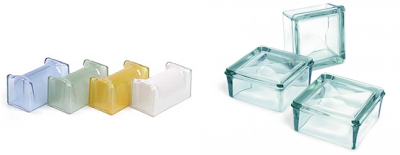 tijolo de vidro para fechamento de ambiente