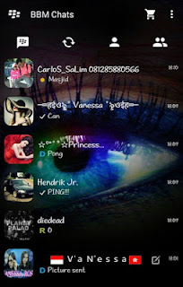 BBM FULL TRANSPARENT COOL V2.10.0.31 Apk