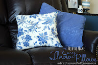 easy throw pillows