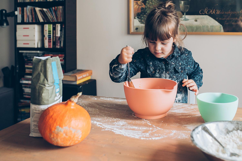 Gotowanie z Emilką - sesja dla Ładne Bebe