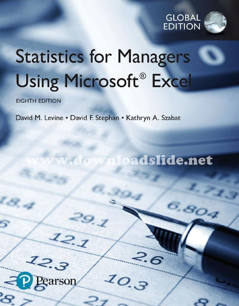 Downloadslide download slides ebooks solution manual and ebook solution manual powerpoint test bank book title statistics for managers using microsoft excel edition 8th edition global edition authors fandeluxe Choice Image