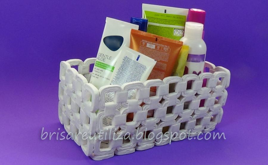 Reciclar cesta - Cestas de papel periodico ...
