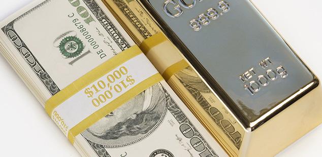 Precio del oro en dolares