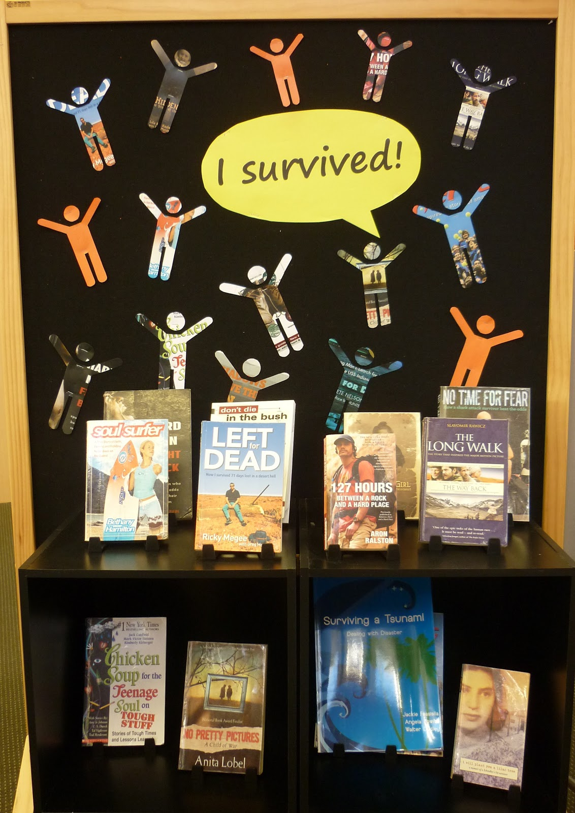 Library Displays I Survived