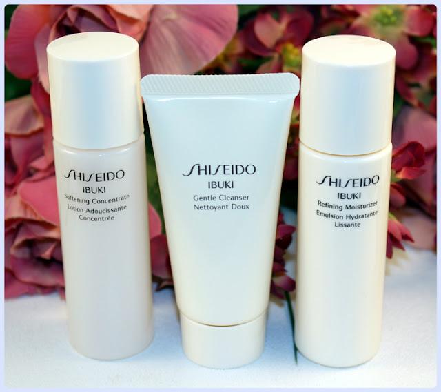 Shiseido Ibuki Skin Care Mini Sampler Set