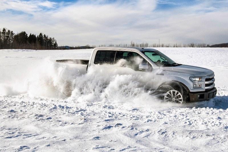 Зимние шины на внедорожнике