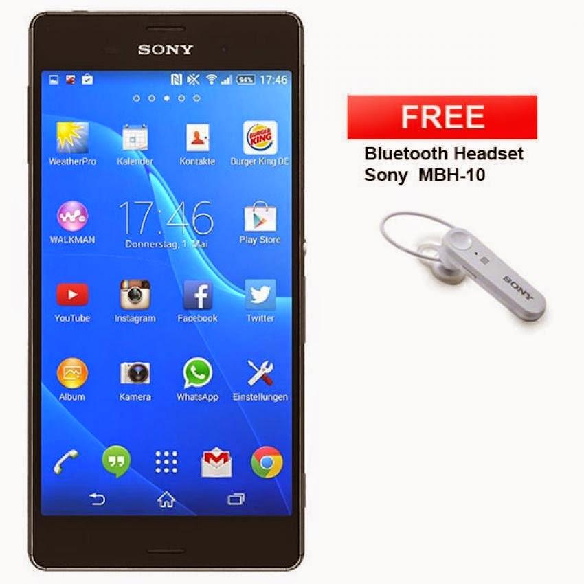 Sony, Sony Xperia Z3, Harga Sony Xperia Z3, Spesifikasi Sony Xperia Z3, kelebihan dan kekurangan Sony Xperia Z3