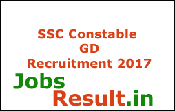 SSC Constable GD Recruitment 2017