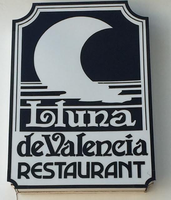 Restaurante lluna de Valencia
