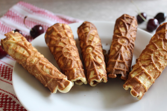 Honey Cornmeal Cones | Nothing in the House
