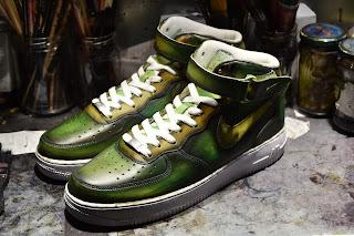 patine vert japonais par Paulus Bolten
