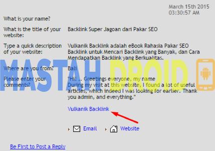 Cara Mendapatkan BackLink .EDU Dan .GOV