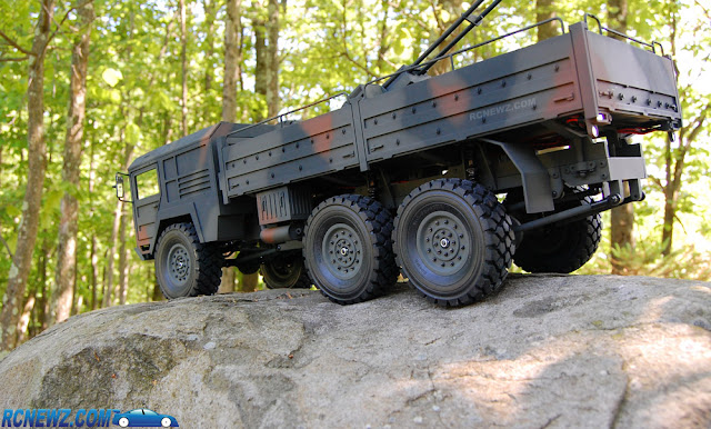 RC4WD Beast 2 6x6 rc military truck