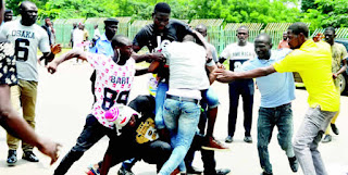 ASUU STRIKE:- NANS Factions Exchange Blows In Abuja