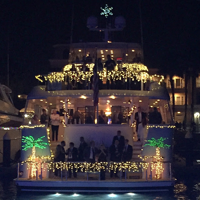 Newport Beach Christmas Boats