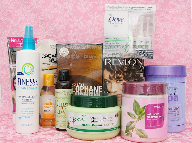 Top hair products to buy from Watsons