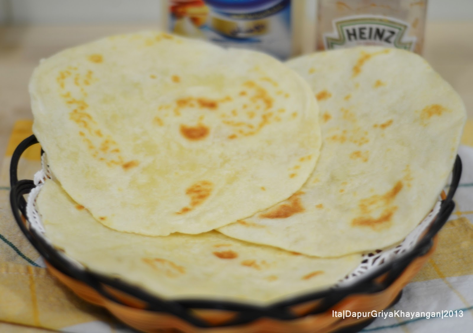Membuat Tortilla Dan Kebab Turki Sendiri