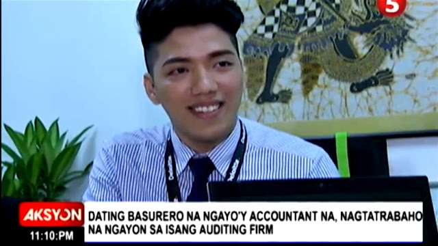 He is now a CPA and working in one of the biggest auditing company of the world.