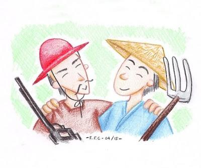 Kisah Teladan Persahabatan Petani dan Pemburu