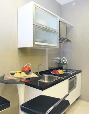 interior kitchen set untuk type rumah 36