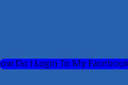Facebook Login to My Account