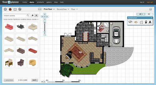Top web apps online applications floorplanner floor - Floor plan creator free ...
