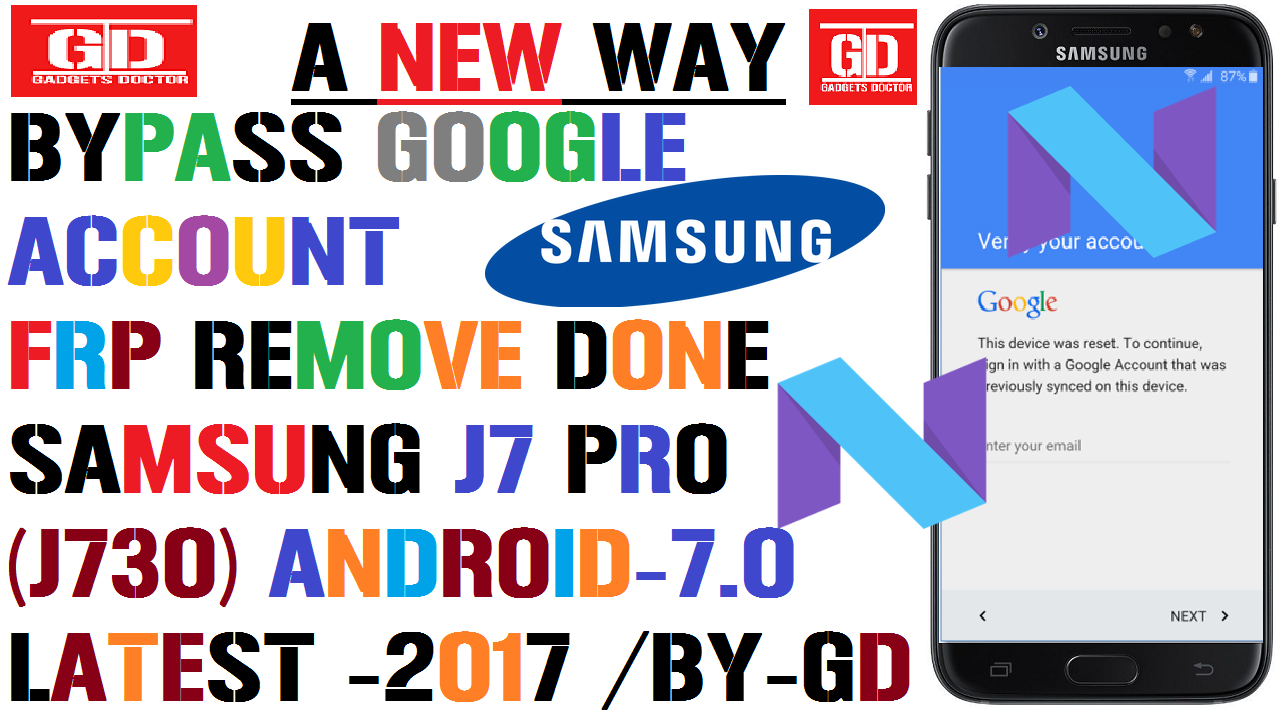 A New Way To Bypass Google Account / Frp Remove On Samsung