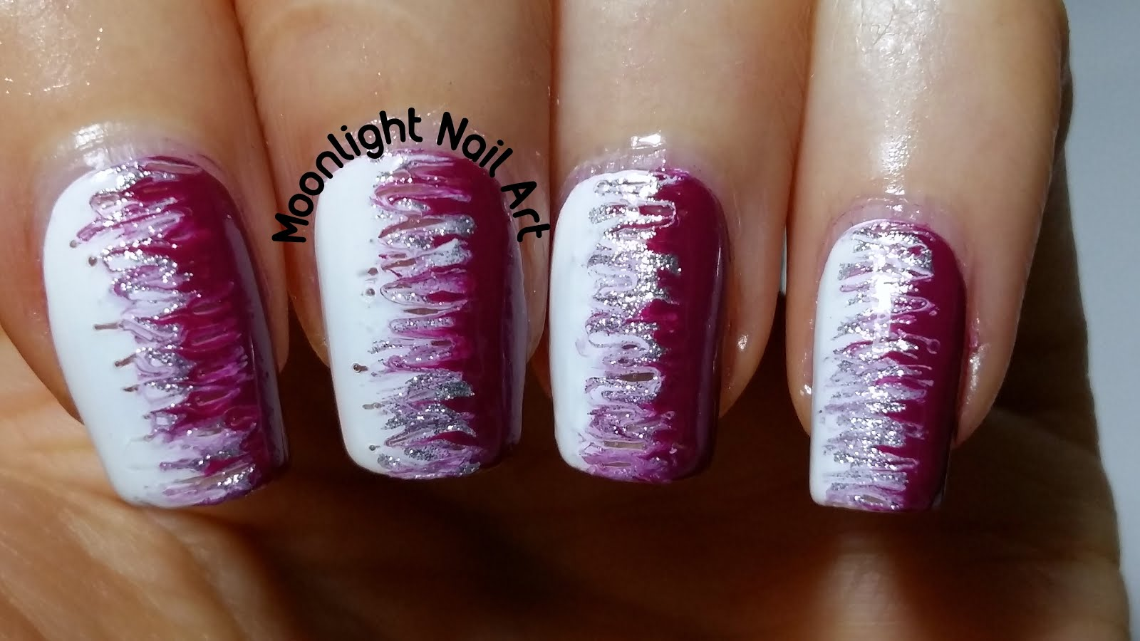 Moonlight Nail Art: Easy Nail Design for Beginners ...