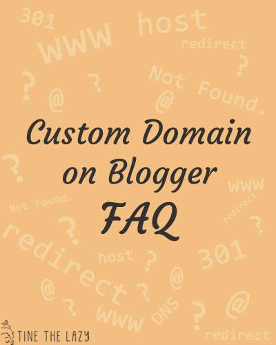 Cambiare dominio - FAQ