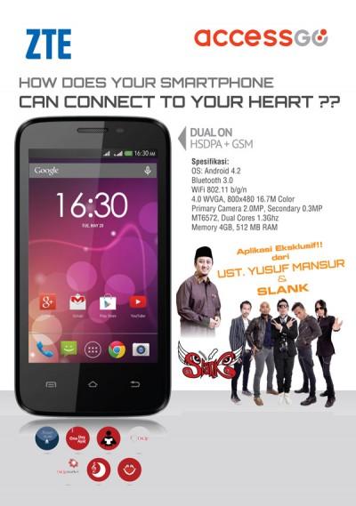 Access Go, Smartphone Pendukung Ibadah