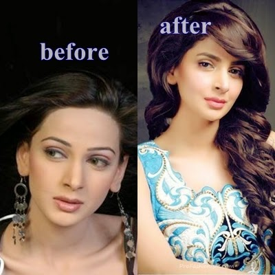 Pakistani Famous Actresses Before And After Unseen