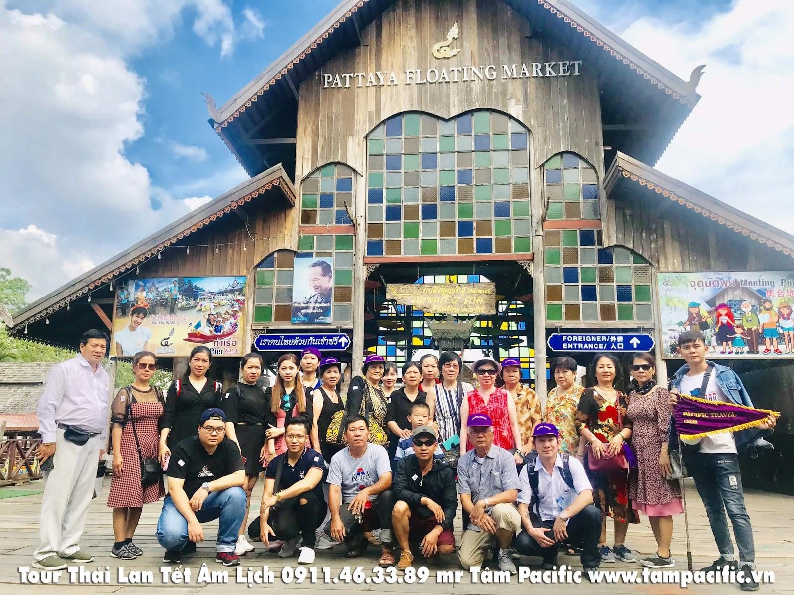 Tour du lịch Thái Lan Tết Âm Lịch 5 ngày 4 đêm khởi hành mỗi ngày